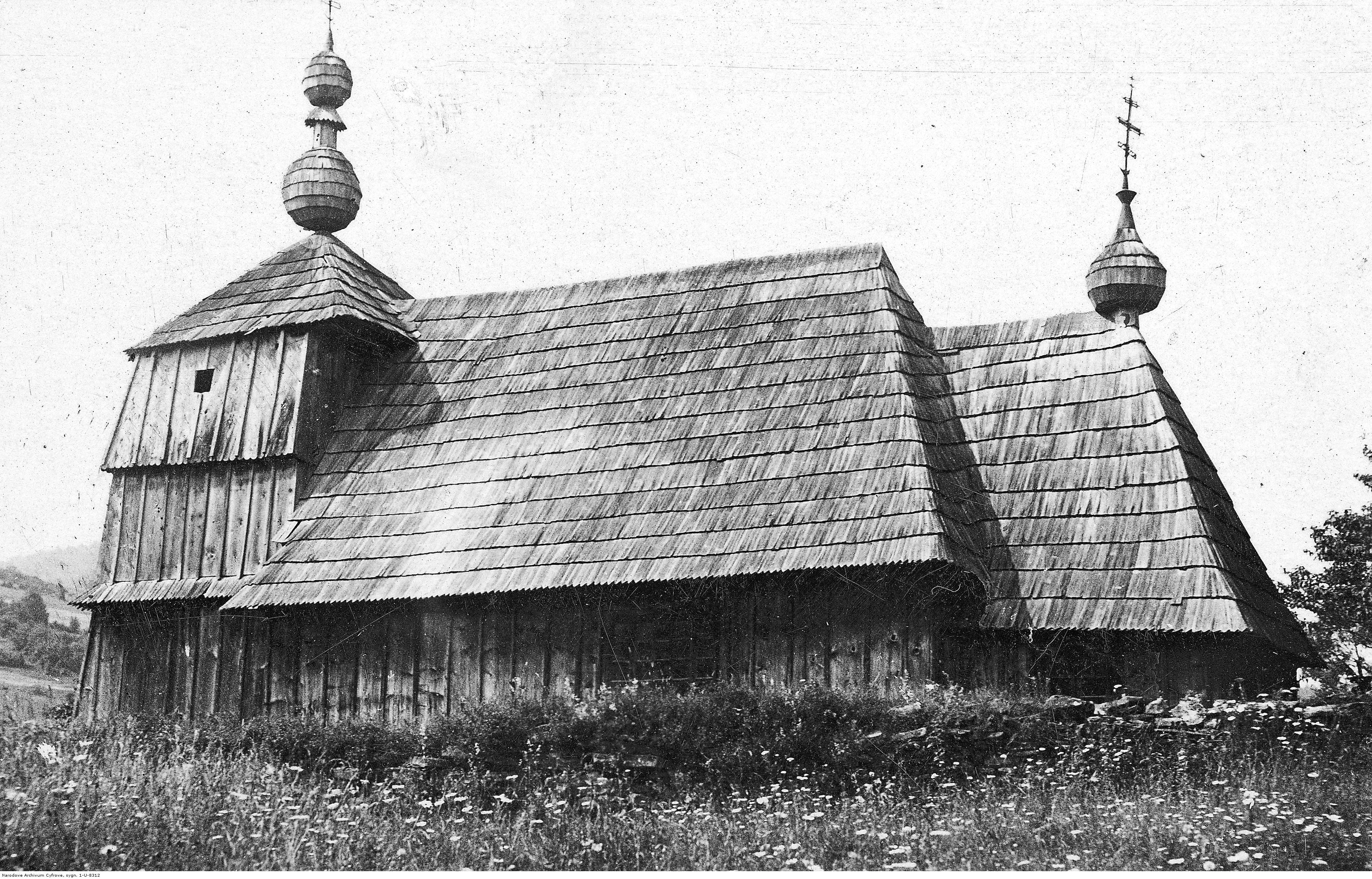 cerkiew żydowskie beskid niski