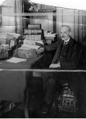 Archiwista Franciszek Jaworski, NAC
